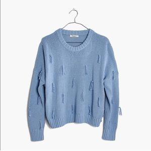 Madewell tassel pullover sweater - NWOT